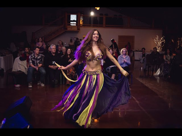 DRUM SOLO Sadie with David Hinojosa Orchestra Sadie's Bellydance Music Retreat Gala Night