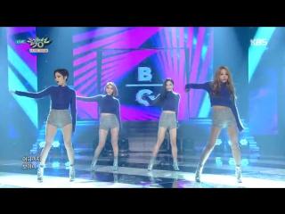 Brown eyed girls brave new world @ music bank 151120