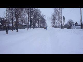 МТЗ 50 + ко2 расчистка улиц от снега