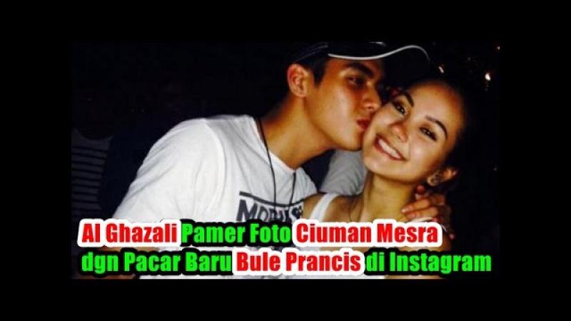Wow! Al Ghazali Pamer Foto Ciuman Mesra dgn Pacar Baru Bule Prancis di Instagram