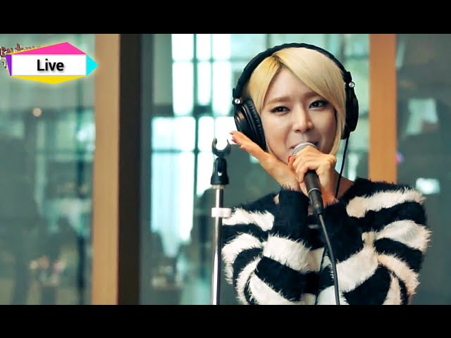 정오의 희망곡 김신영입니다 AOA Like a Cat 에이오에이 사뿐사뿐 20141127