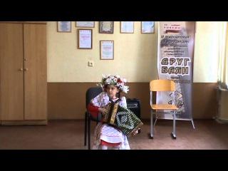 посмотрите как в восемь лет девочка исполнила коробейники на гармони