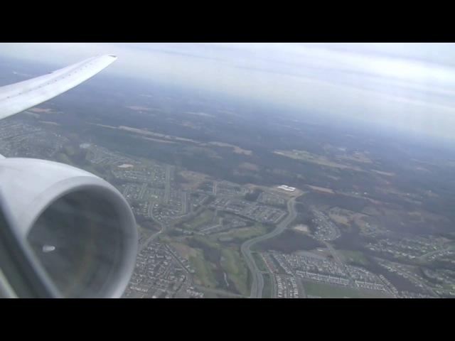 PrattWhitney PW4090 Full Power United Airlines Boeing 777-200ER Takeoff Washington Dulles