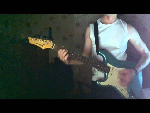 Bullet For My Valentine Tears Don't Fall drunken master guitar cover