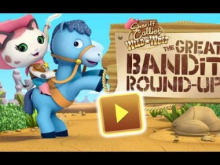 Sheriff Callie Bandit Round-Up - Шериф Келли охотник за Бандитами