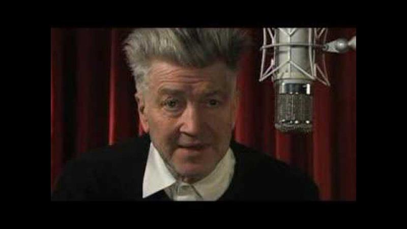 David Lynch on iPhone