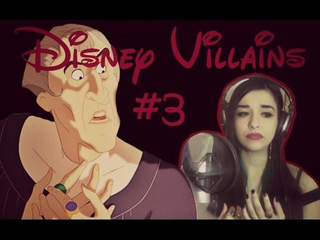 Disney Villains 3 Fiamme Dell'Inferno Frollo Il Gobbo Di Notre Dame OST Cover by Luna