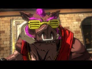 Teenage Mutant Ninja Turtles: Mutants in Manhattan - Bebop Boss Battle Gameplay