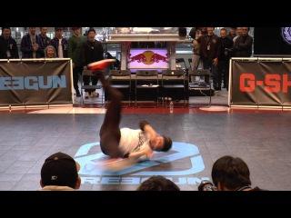MC KENSAKU DEMO / King Of College 冬の陣 2016 BREAK DANCE CREW BATTLE