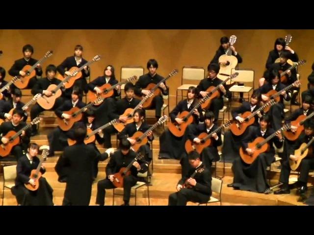 ブランデンブルク協奏曲第3番 第1楽章 多摩高校ギターアンサンブル部