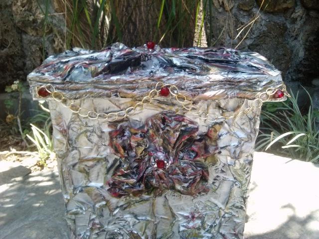 DIY Como hacer Cesto ropa sucia Laundry basket with cardboard