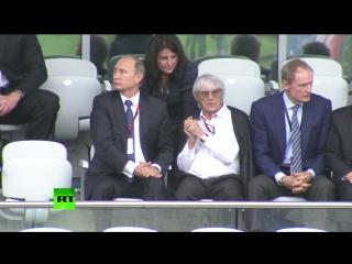 Владимир Путин приехал на Гран-при России в Сочи
