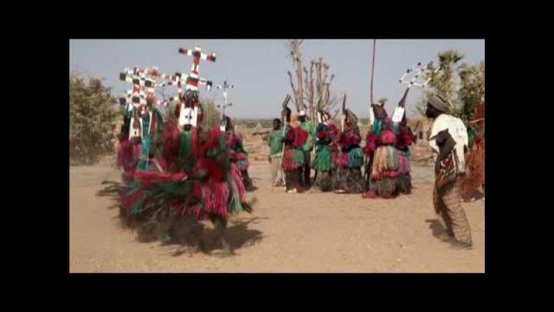 Mali 2009 - Dogon mask dance