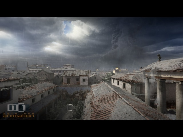 A Day in Pompeii Full length animation