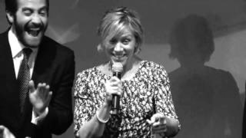 Roger Deakins tribute -Frances McDormand -ExcelLens Cannes 2015 -thefilmbook