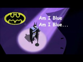 "BATMAN Sings for Wonder Woman ""Am I Blue"" || Justice League Unlimited TV Series ||"