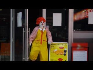 Don't fuck with Ronald McDonald