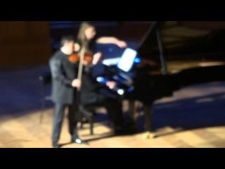Брамс  Венгерский танец № 2 Максим Венгеров (скрипка) Итамар Голан (фортепиано)
