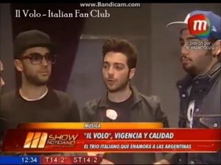 Il Volo -  intervista a Show Noticias 10 años (sottotitoli in italiano)