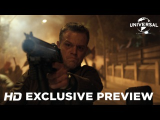 Jason Bourne - Exclusive Preview (Universal Pictures) HD