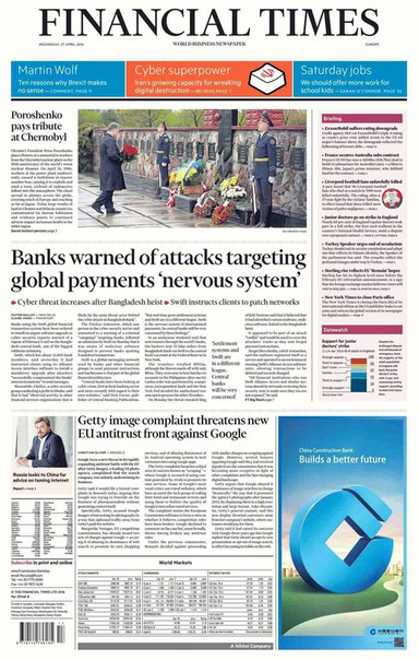 The Wall Street Journal Europe  April 27 2016