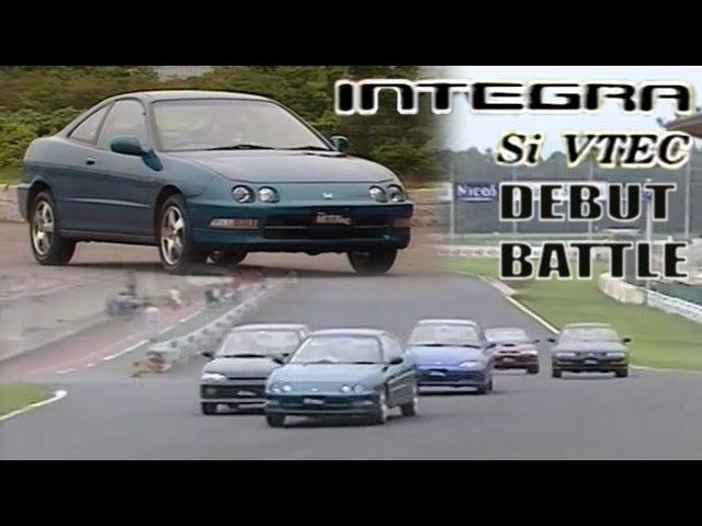 ENG CC New Integra Si VTEC vs fastest FF squad in Tsukuba 1993
