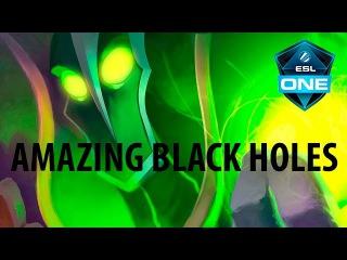 AMAZING Black Holes with Rubick by KingR @ ESL One Manila