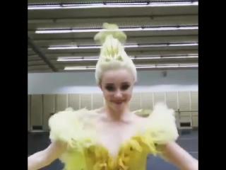 Australian Ballet  Юмор) Когда перед спектаклем нечем заняться)