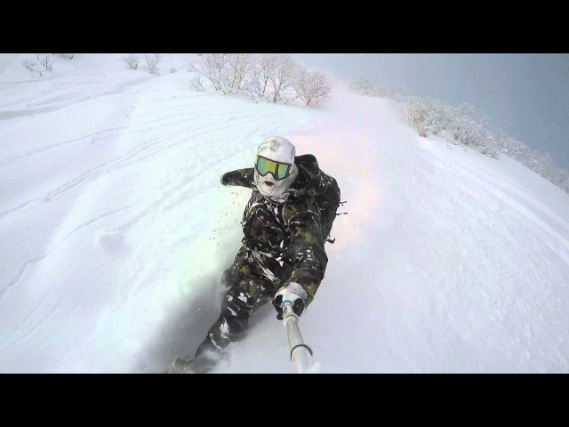GoPro Line of the Winter Dave Quirk Mt Niseko Annupuri Japan 03 07 16 Snow