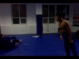 акробатика после тренировки Alliance октябрь 2014 год