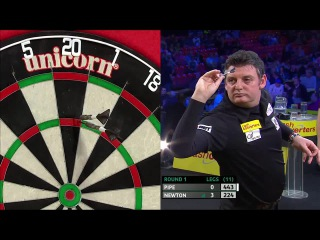 Justin Pipe vs Wes Newton (Players Championship Finals 2014 / Round 1)