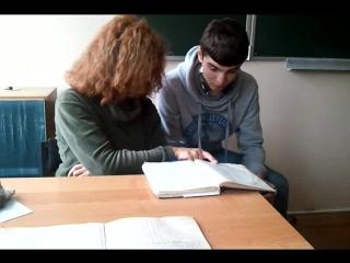 Уроки Итальянского с нашей кудрявой преподавательницей)))