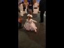 ксюша танцует с бабушкой