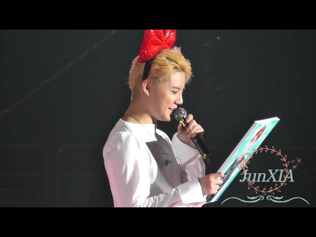 160612 XIA 5th Asia Tour Seoul - Genie Time 3 (Full-8mins)