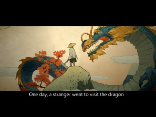 """Overwatch animation short """"Dragons"""" Japanese Ver. (SUBBED)"""
