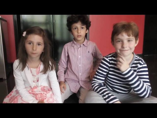 Дети билингвы Интервью с молодыми американцами Детям 6 7 лет