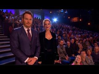 The Graham Norton Show S20E09 - Jennifer Lawrence, Chris Pratt, Jamie Oliver, Will I Am, Emeli Sande