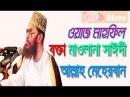 Bangladeshi Bangla Waz Mahfil Allah Meherban Allama Delowar Hossain Sayeedi