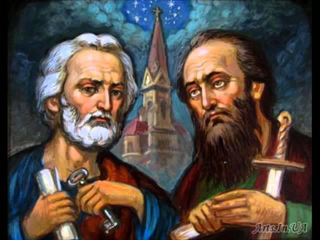Петр и Павел твердая вера и глубокое смирение Прот Андрей Ткачев