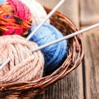 Вязание крючком и нитками