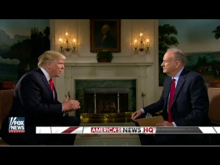 PREVIEW: Trump Tells O'Reilly He 'Respects' Putin in Super Bowl Interview