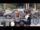 Street artists Highway star Deep Purple cover