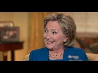 """ВИДЕО: """"ПРИПАДОК"""" у Хиллари Клинтон во время интервью."""