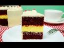 Торт Красный Бархат с чизкейком Как сделать мини торт Красный Бархат Red Velvet Cake
