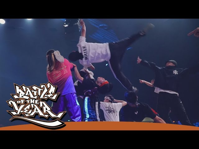 AMAZING ROUTINES AT BATTLE OF THE YEAR 2016 BY STANCE [BOTYTV]