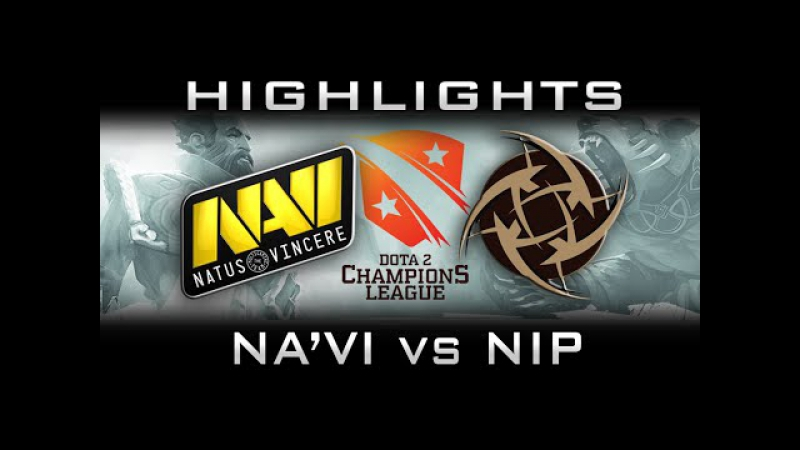 NaVi vs NIP | ArtStyle is Back Highlights D2CL Dota 2