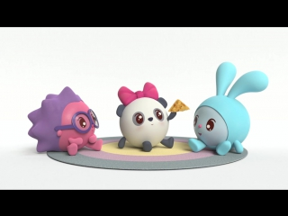 Малышарики  - серии 52 (Колпачок)-51(Не скучай!)-  обучающие мультфильмы для малышей 0-4