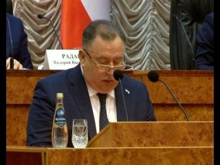 Валерий Сараев впервые отчитался о своей работе на посту главы Саратова на городском активе.