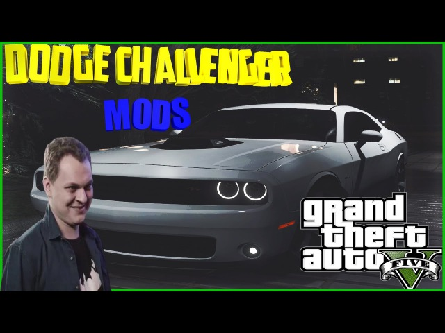 GTA5 Mods Dodge Challenger STR 8 Тачка для Ганстера!