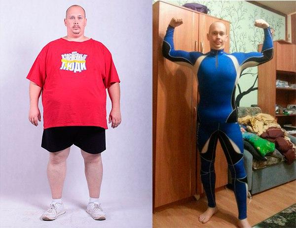 Принципы похудения в взвешенных людях